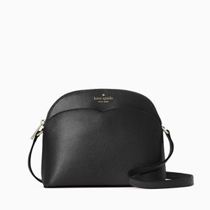 ♠️Kate Spade Payton Dome Zip Crossbody Bag Black